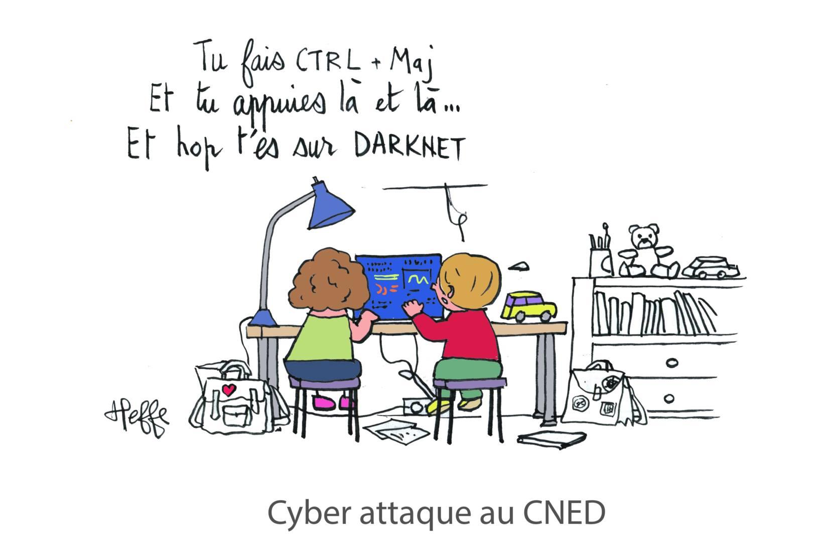 cyberattaque cned