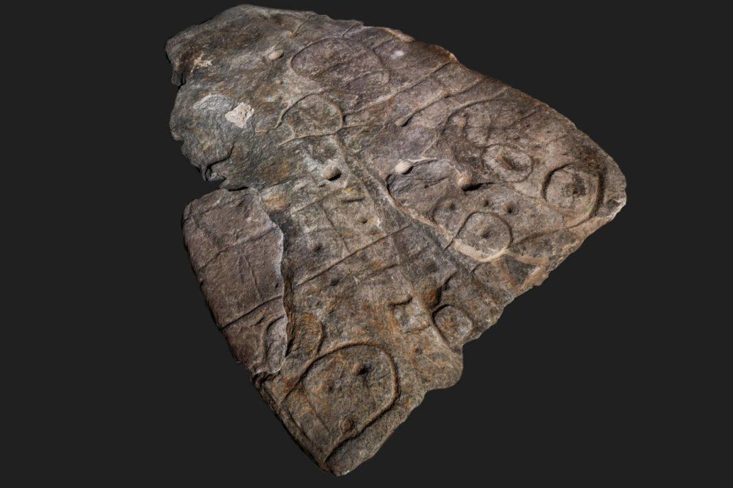 dalle saint Bélec archéologie finistère