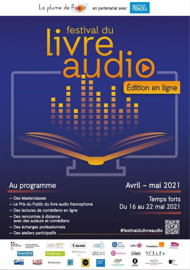 festival livre audio en ligne la plume de paon