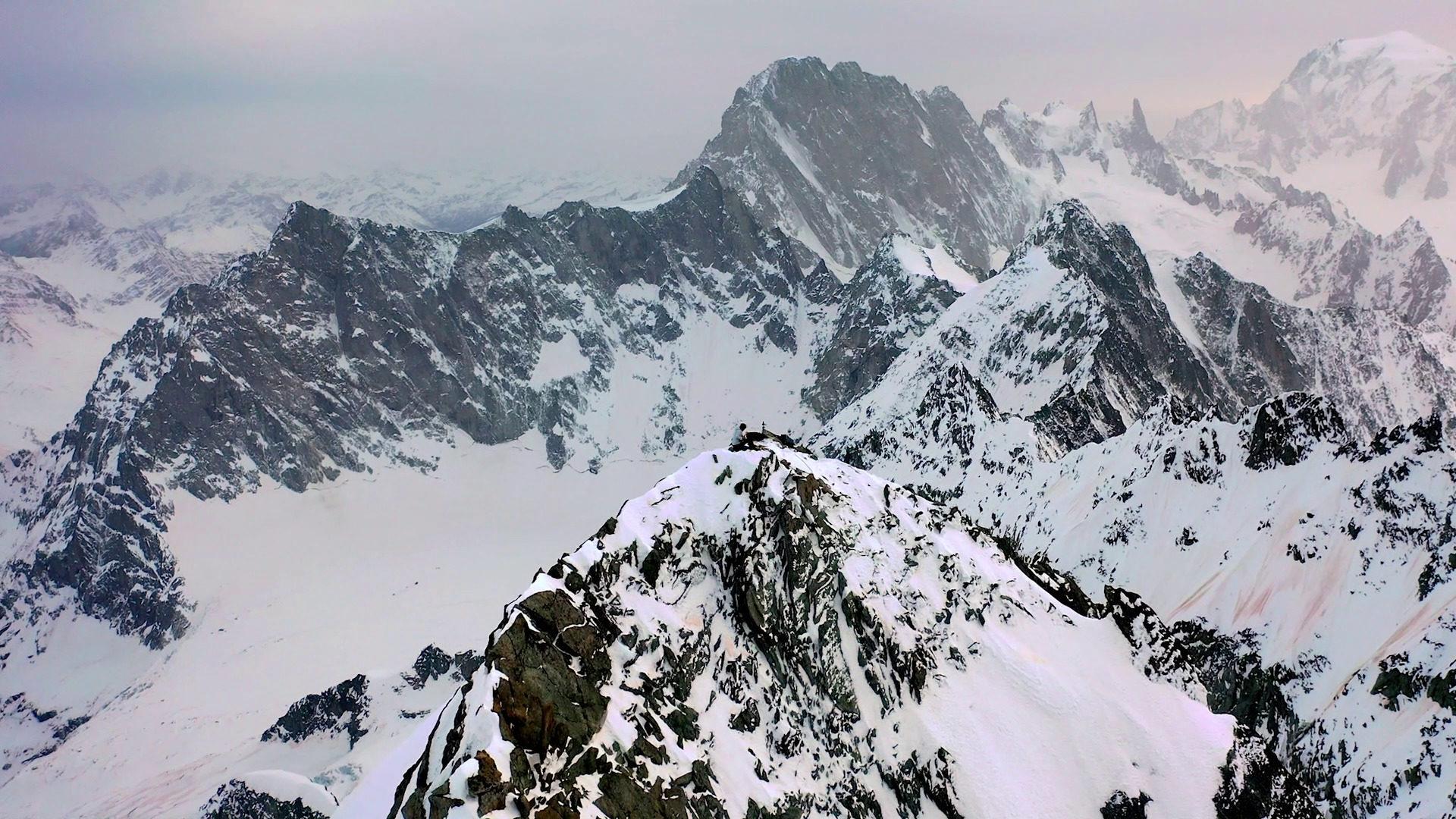 Aiguille triolet Alpes Kwoon  Sandy Lavallart