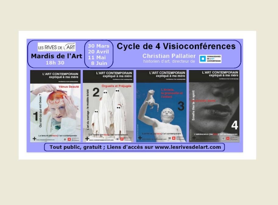 Les mardis de l'Art en visioconférence: l'art contemporain expliqué à ma mère Bergerac