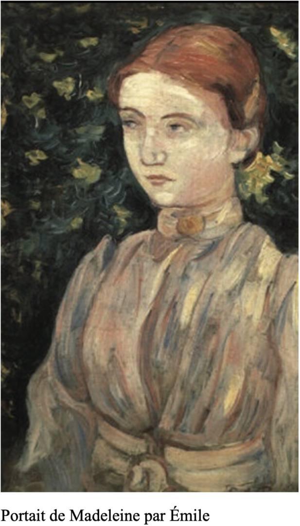 Madeleine Bernard emile