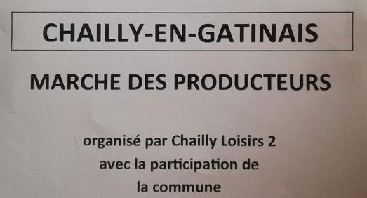 Marché des producteurs Chailly-en-Gâtinais
