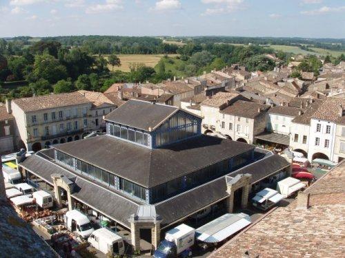 Halle de Monségur Monségur