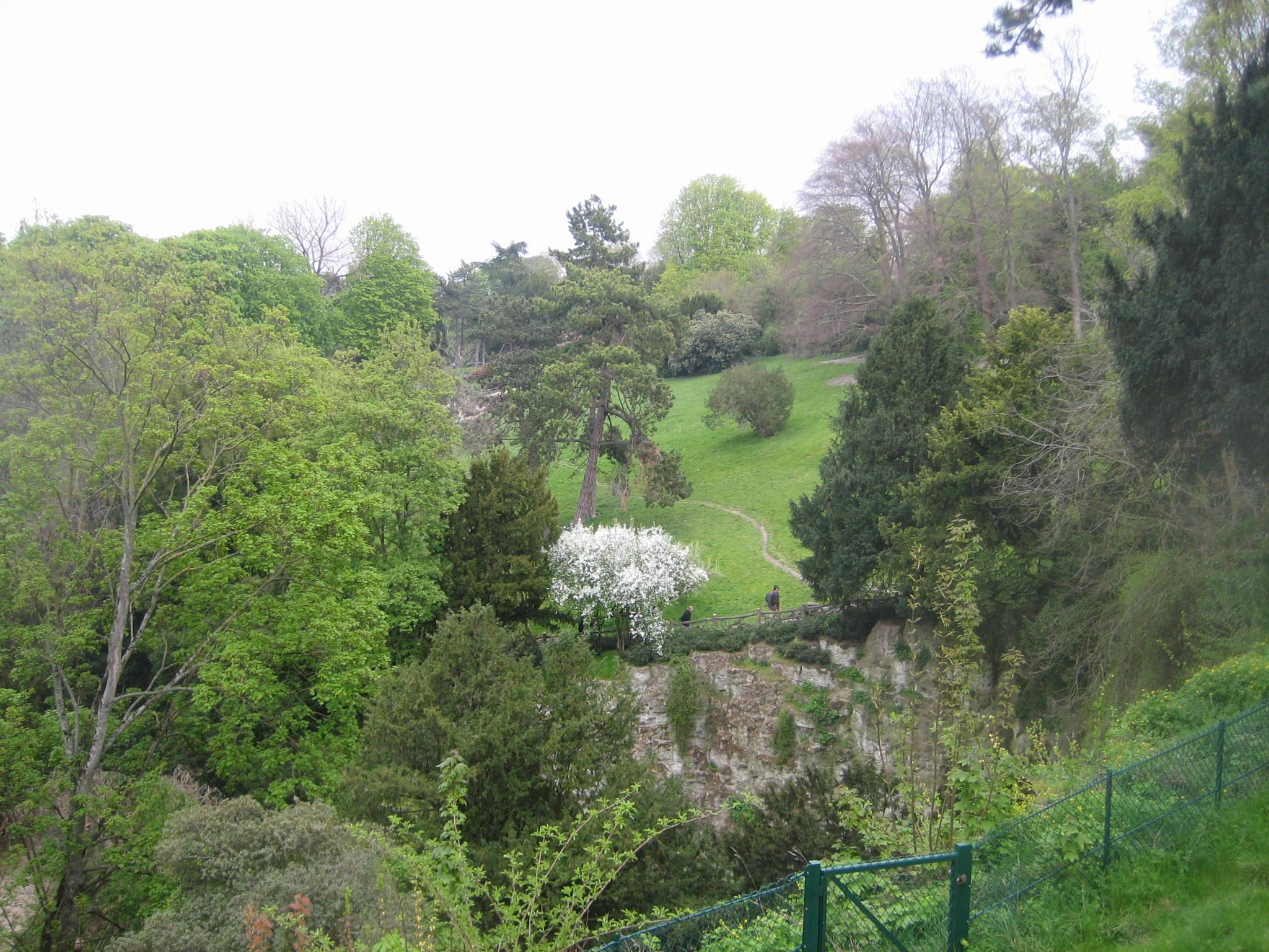 Parc des Buttes-Chaumont Maison du Jardinage - Pôle ressource Jardinage Urbain Paris