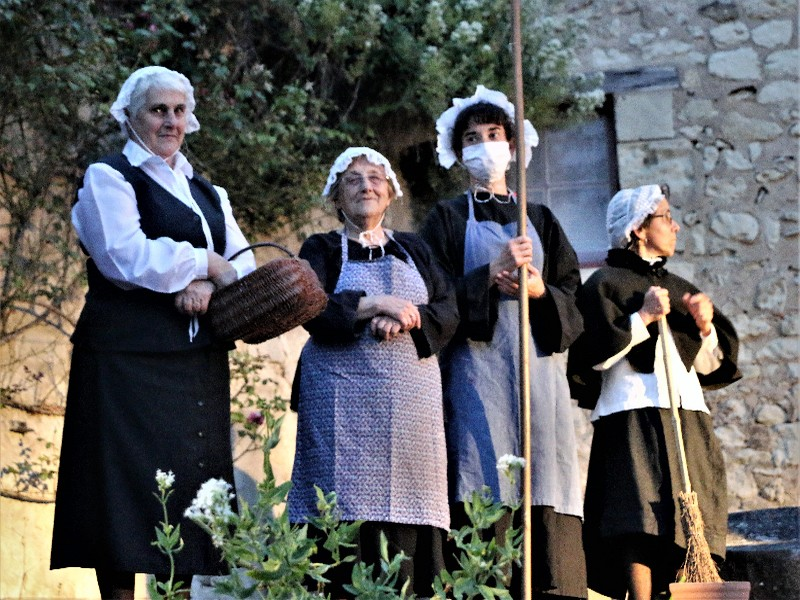 """Spectacle nocturne de Preuilly-sur-Claise  : """"Si Preuilly m'était conté"""" Preuilly-sur-Claise"""