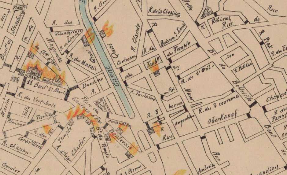 Sur les traces de la Commune et des Communards… Mairie du 11e arrondissement Paris