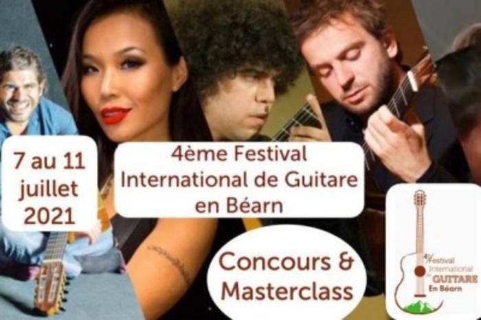 Concours & Masterclasses Festival International de Guitare en Béarn 2021 Théâtre de verdure d'Abet 64270 Lahontan Lahontan