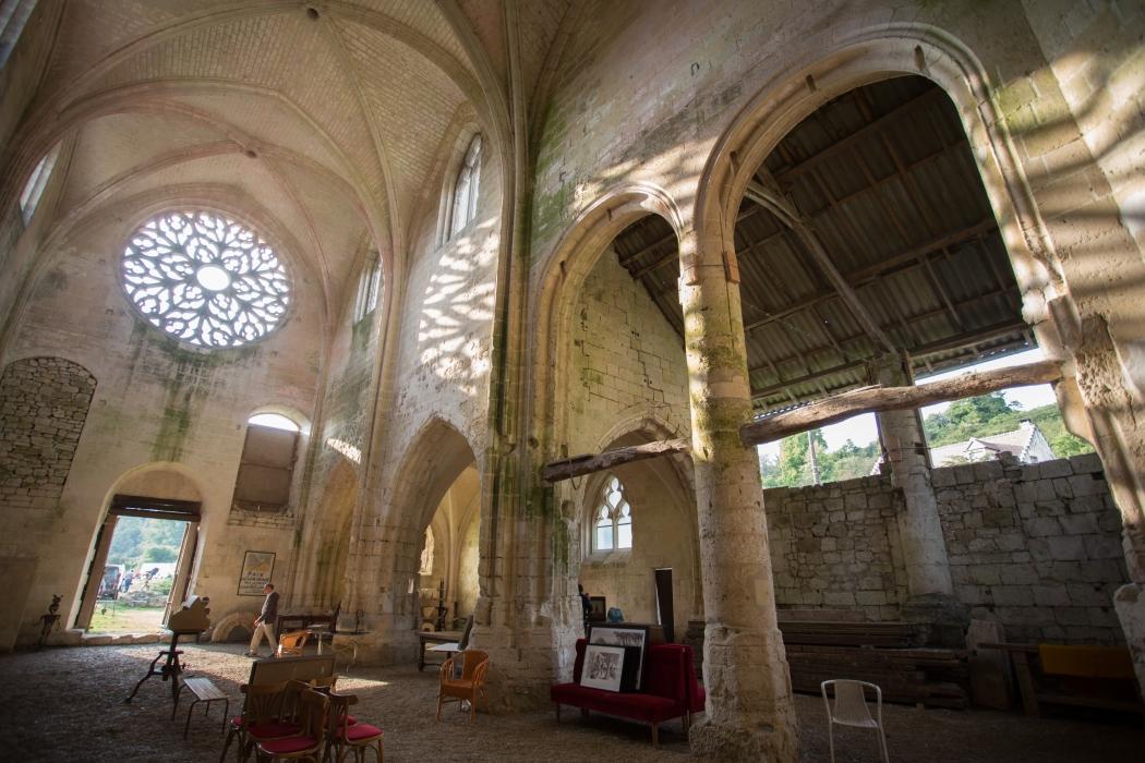 Abbaye de Lieu-Restauré Bonneuil-en-Valois
