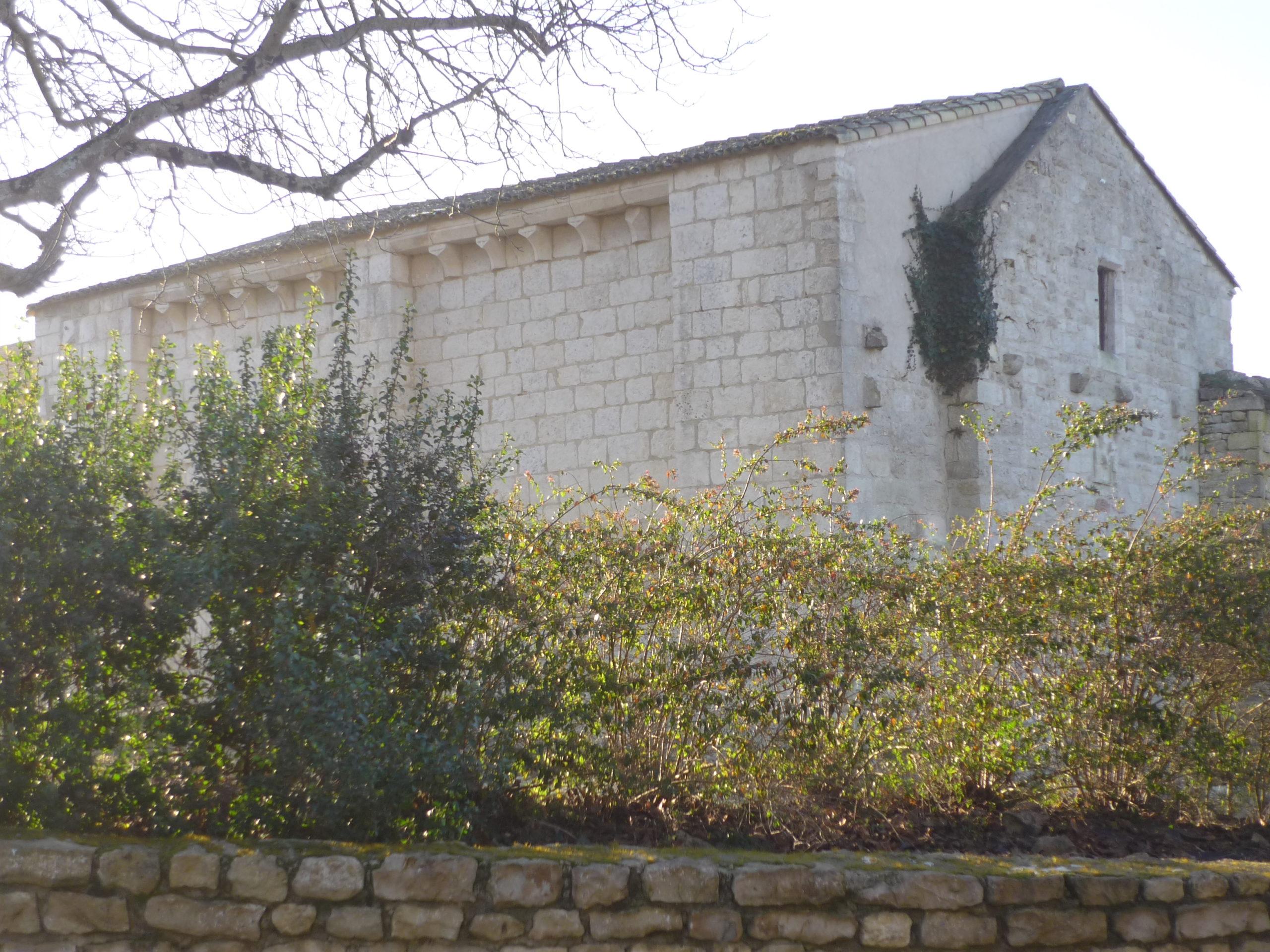Ancienne chapelle priorale de Croizé Niort