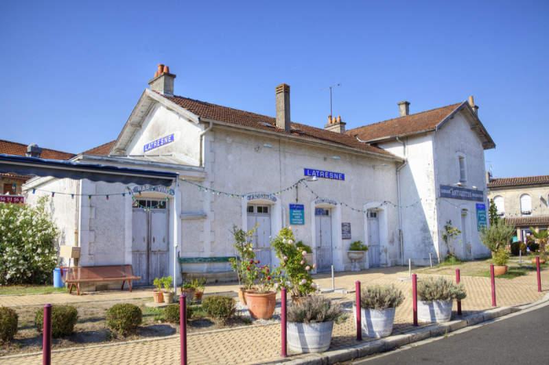 Ancienne gare de Latresne Latresne