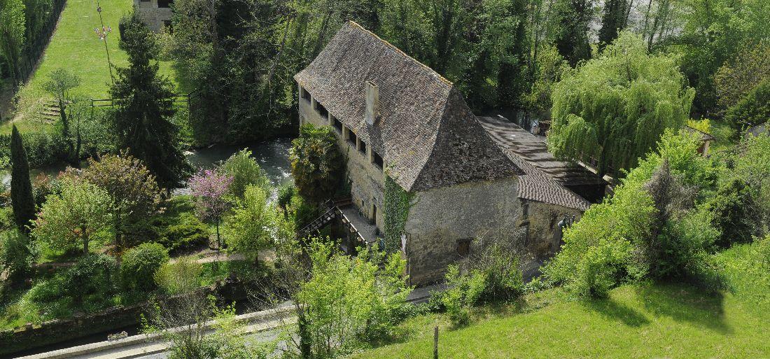 Balade patrimoine Village papetier de Couze et Saint Front Couze-et-Saint-Front