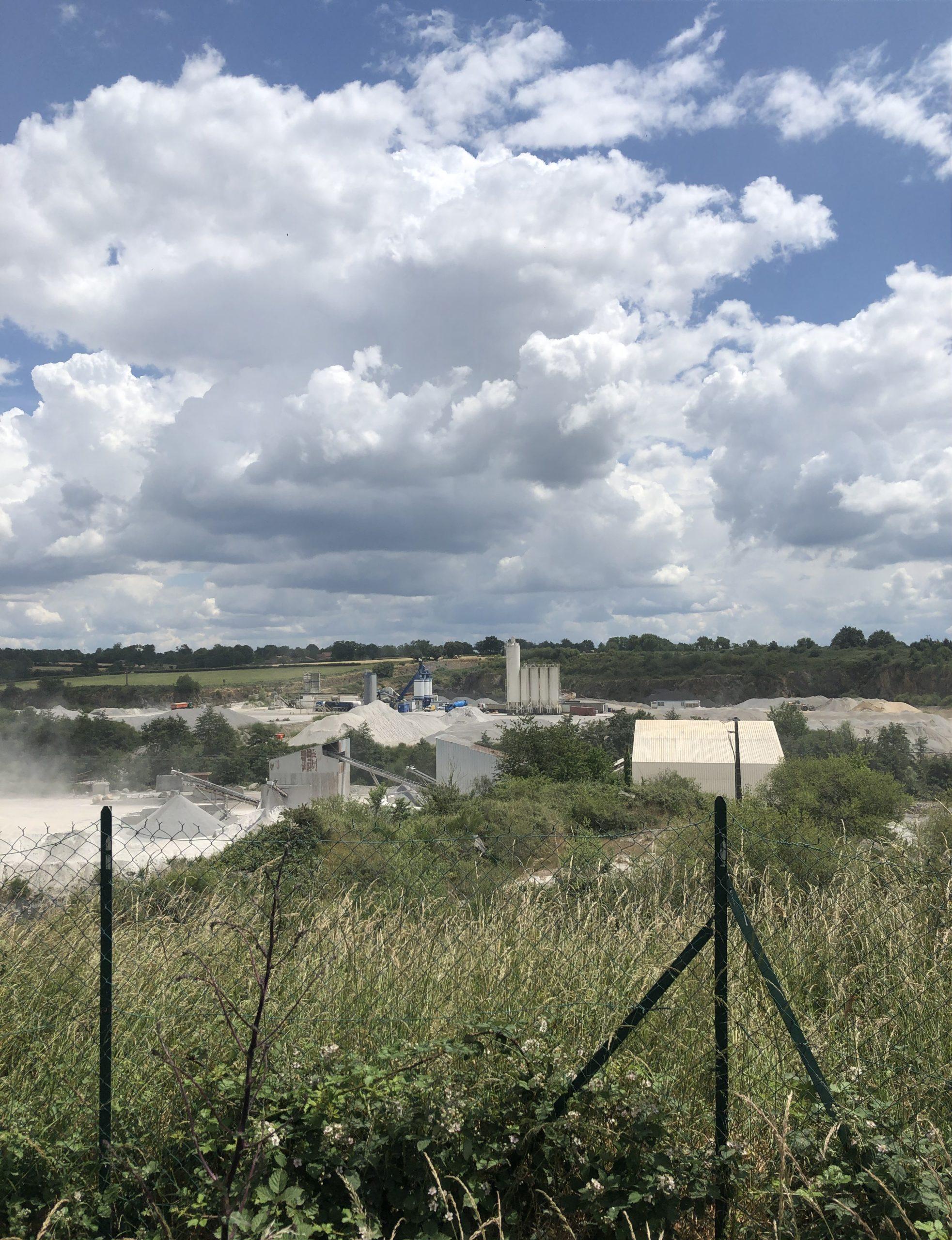 Belvédère des Roches - Carrière et Matériaux du Grand Ouest - Carrière du Pont La Peyratte