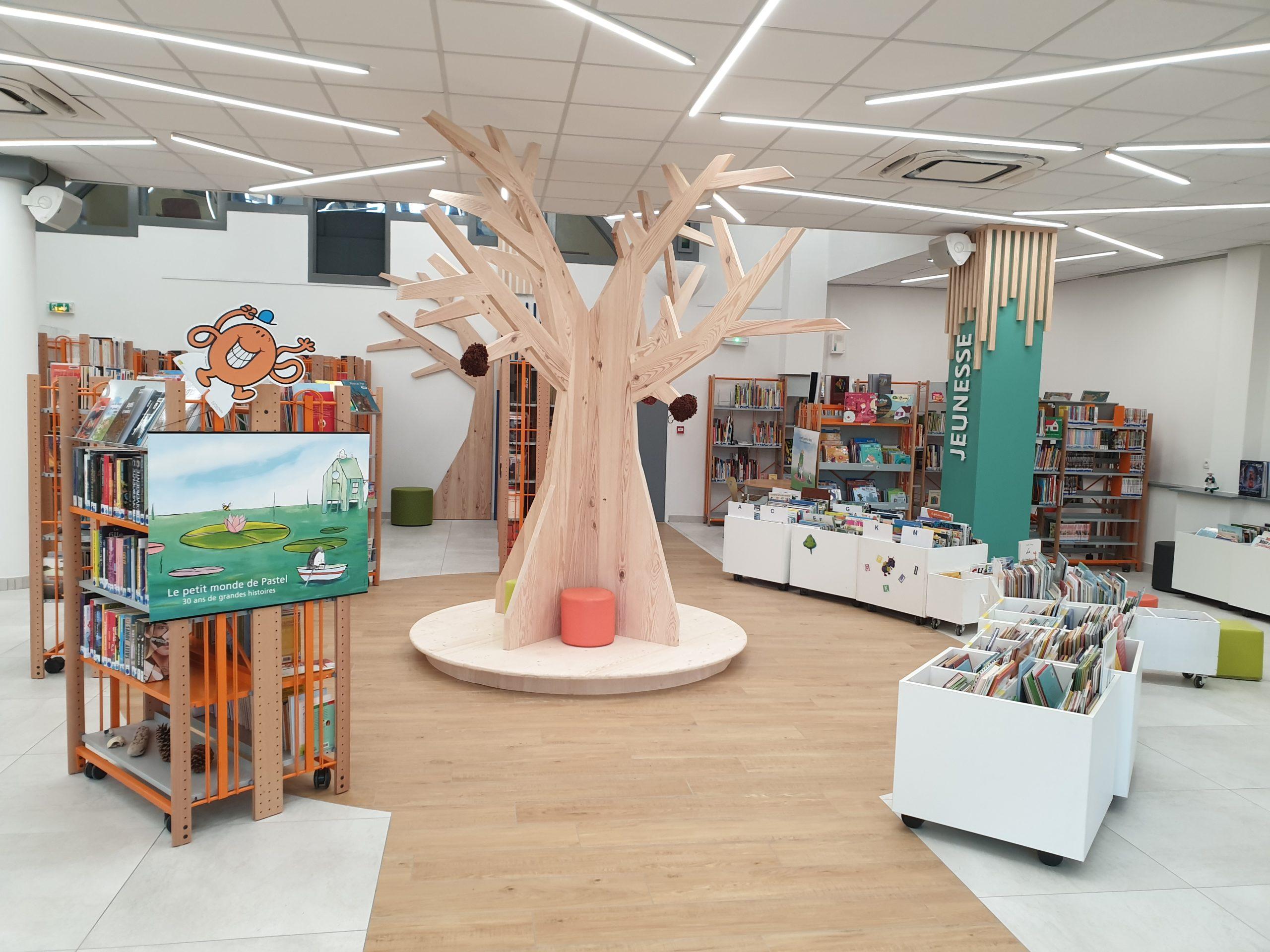 Bibliothèque - Médiathèque Léon
