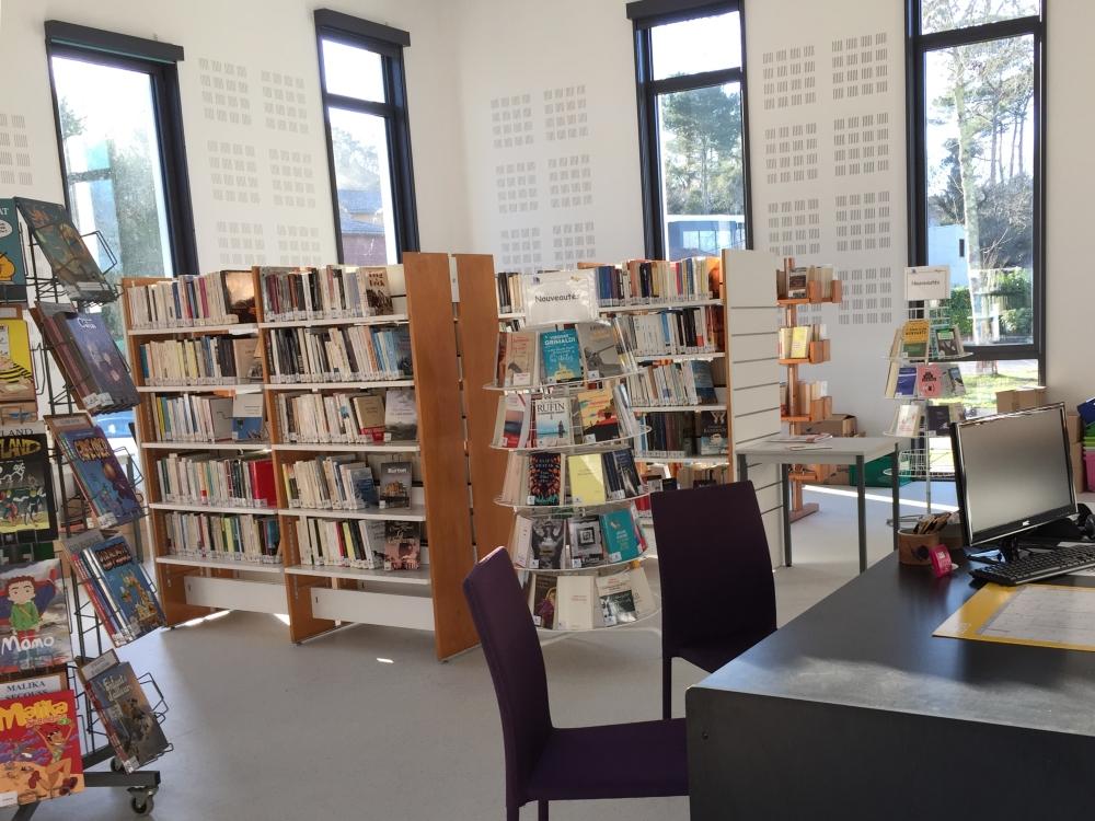 Bibliothèque Seignosse