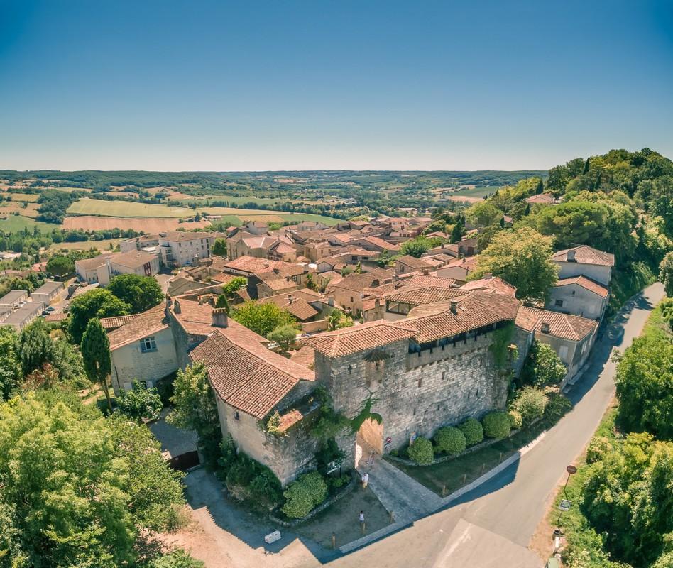 Bourg médiéval de Penne-d'Agenais Penne-d'Agenais