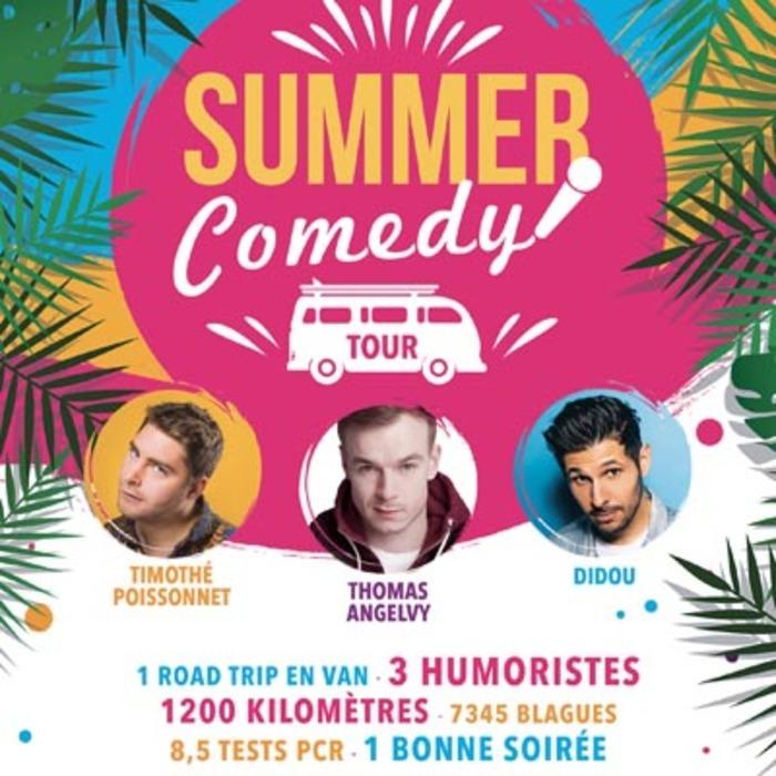 Summer Comedy Tour Café Théâtre Le Bacchus