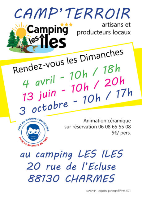 CAMP'TERROIR - MARCHÉ DE PRODUCTEURS Charmes