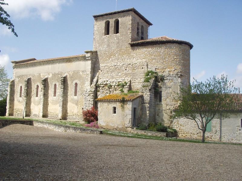 Chapelle des Templiers Romestaing