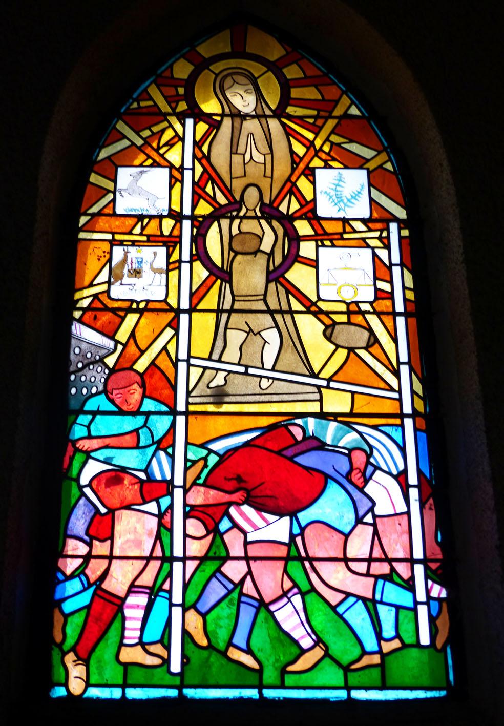 Chapelle Notre Dame du Rugby et sa salle d'exposition Larrivière-Saint-Savin