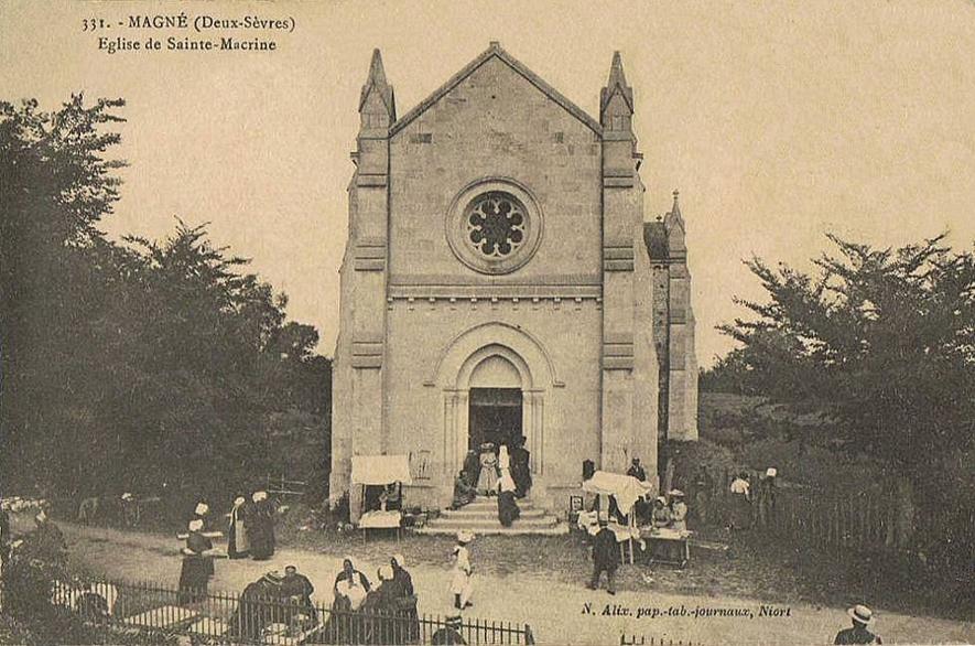 Chapelle Sainte-Macrine de Magné Magné