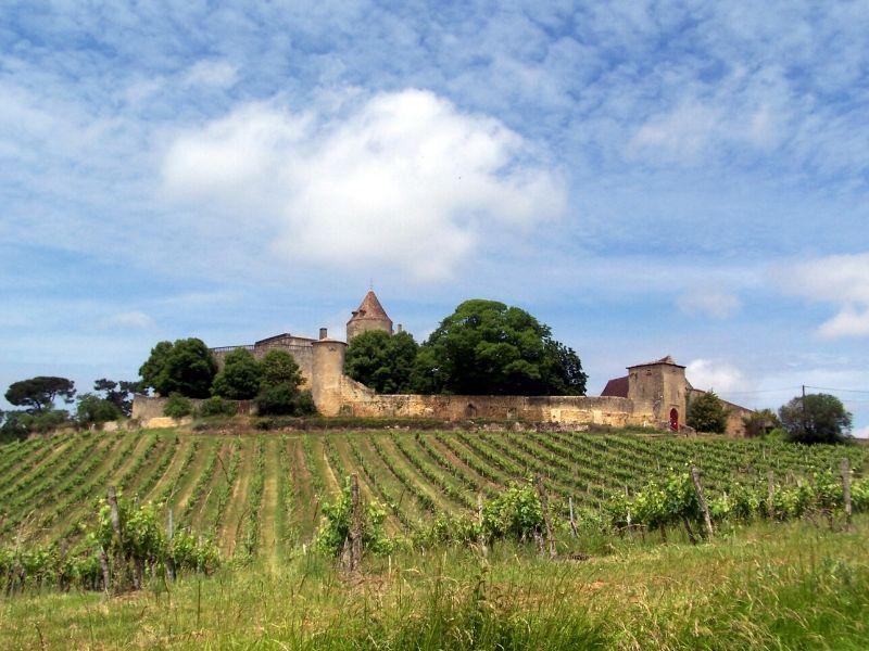 Château de Benauge Porte-de-Benauge