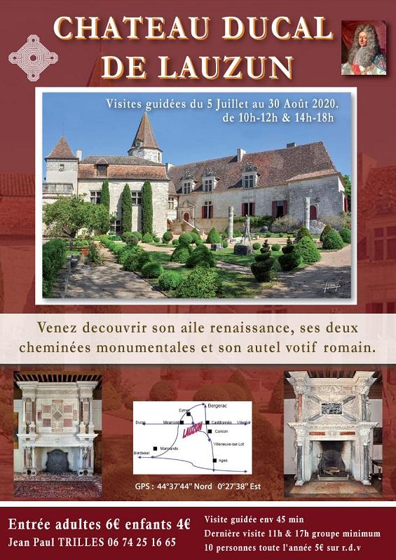 Château de Lauzun Lauzun