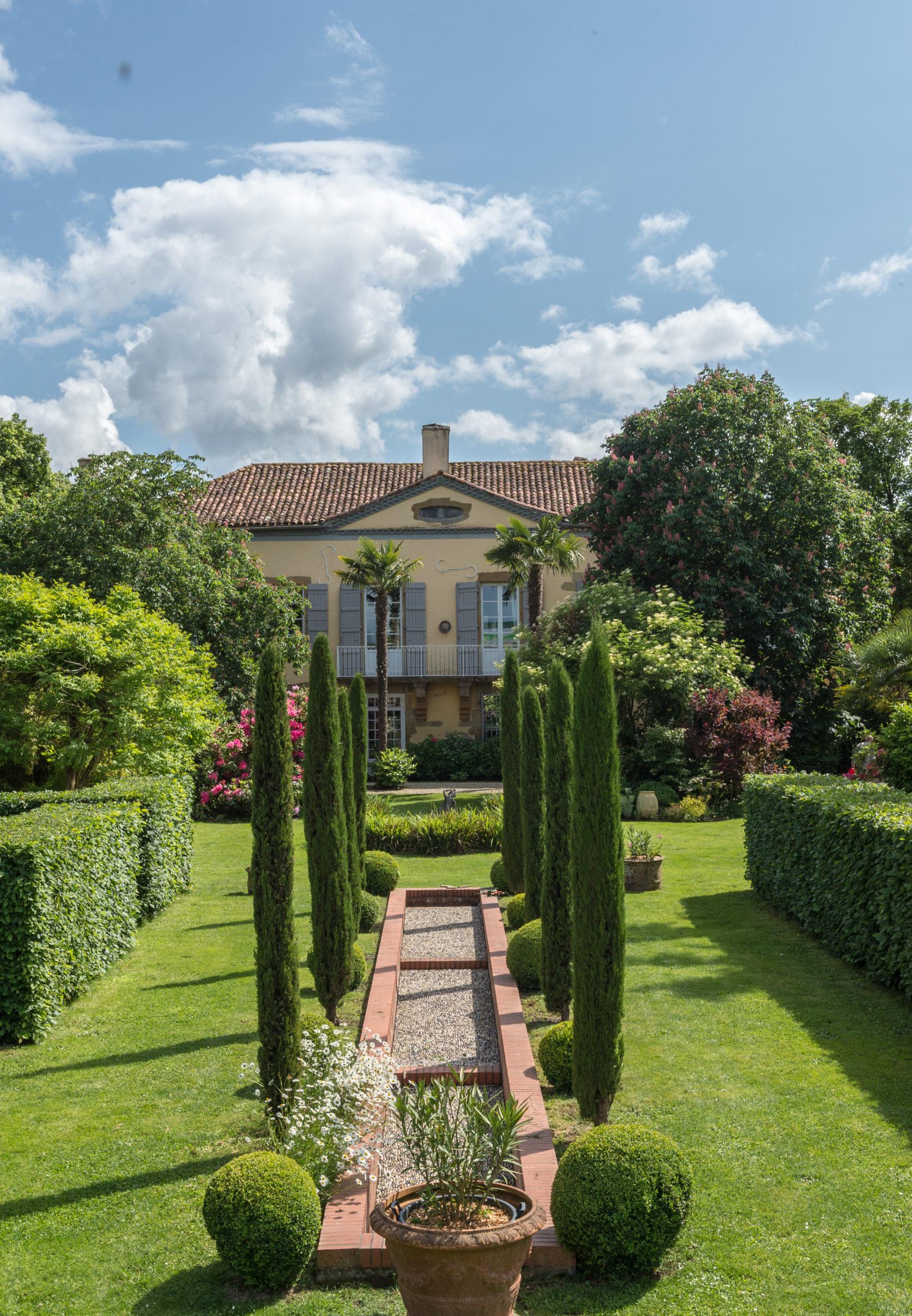 Château de Marrast et son jardin remarquable Bordères-et-Lamensans