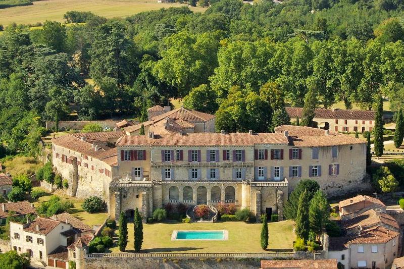 Château de Poudenas Poudenas