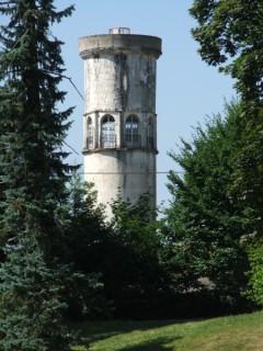 Château d'eau Le Corbusier à Podensac Podensac