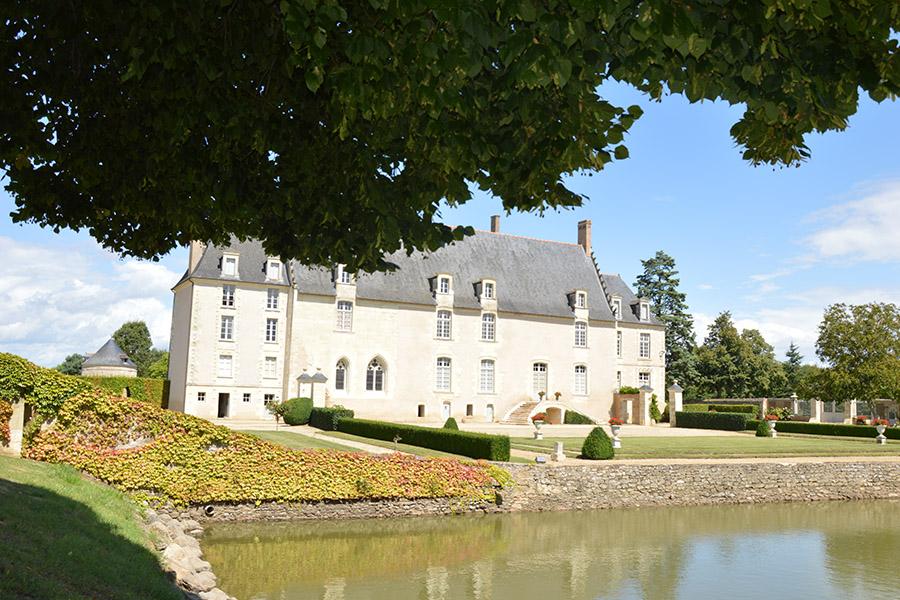Château du Bois de Sanzay Saint-Martin-de-Sanzay