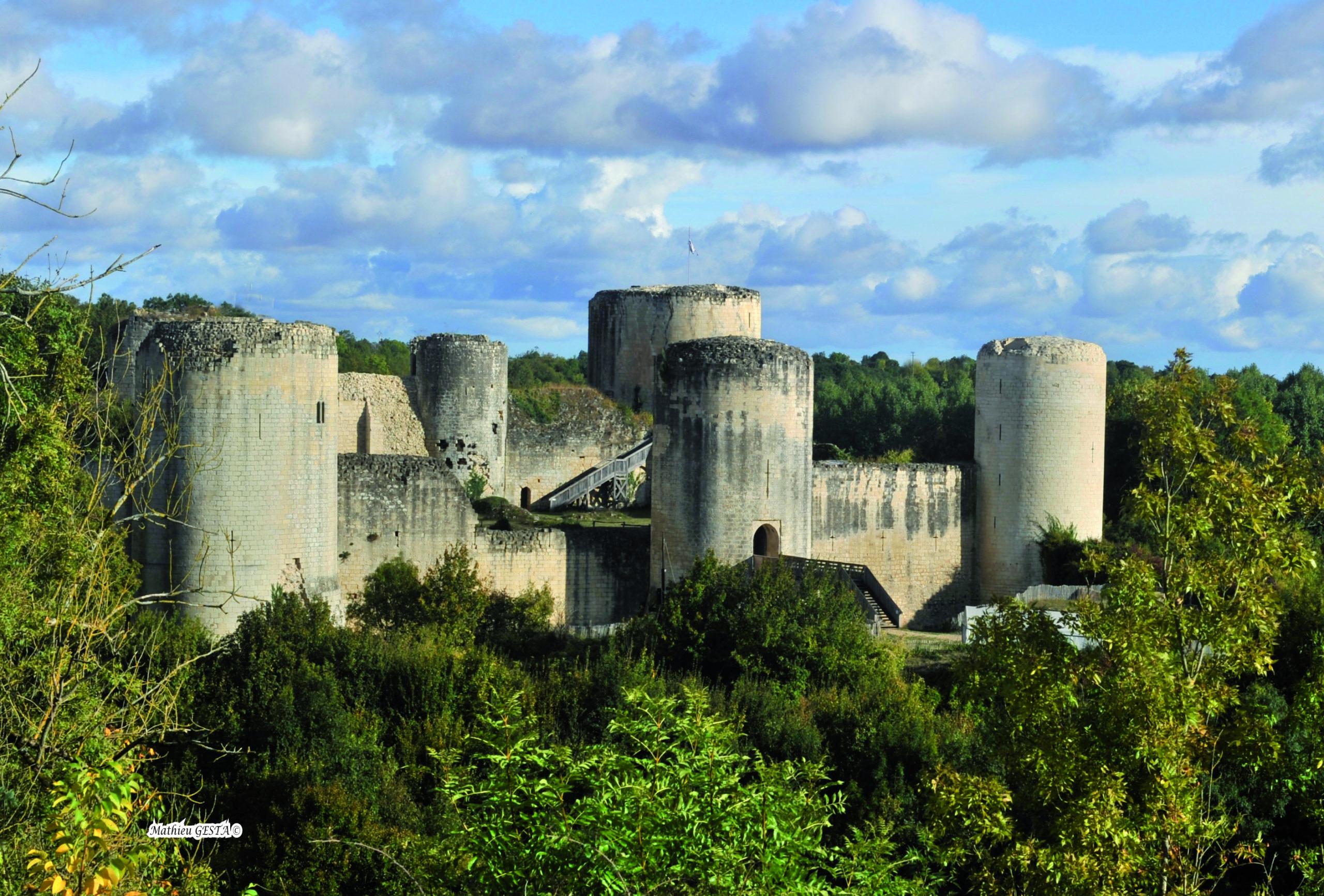 Château du Coudray-Salbart Échiré