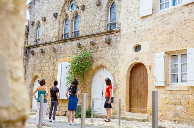 Visite guidée de la cité médiévale de Saint-Macaire Saint-Macaire