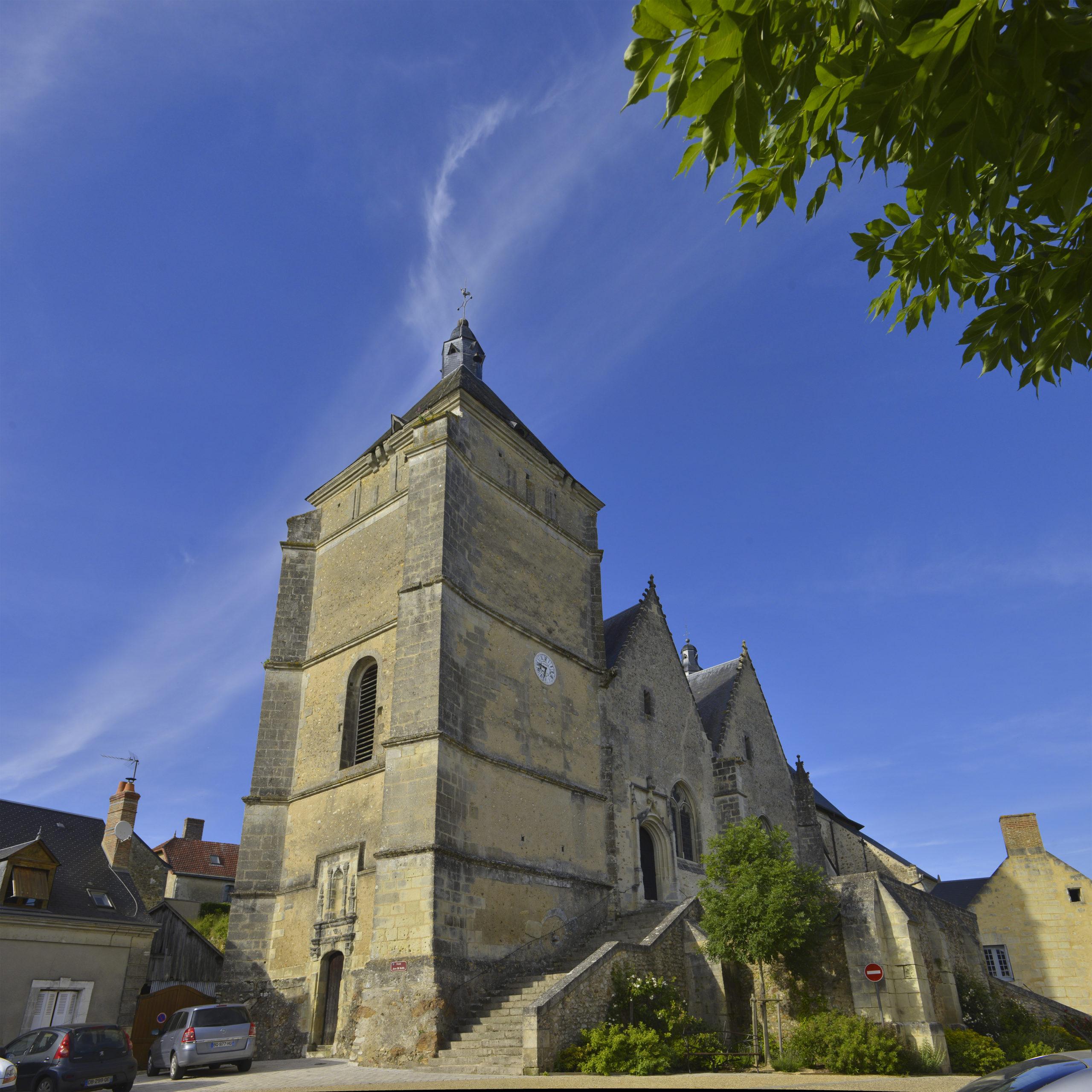 Collégiale de Bueil en Touraine Bueil-en-Touraine