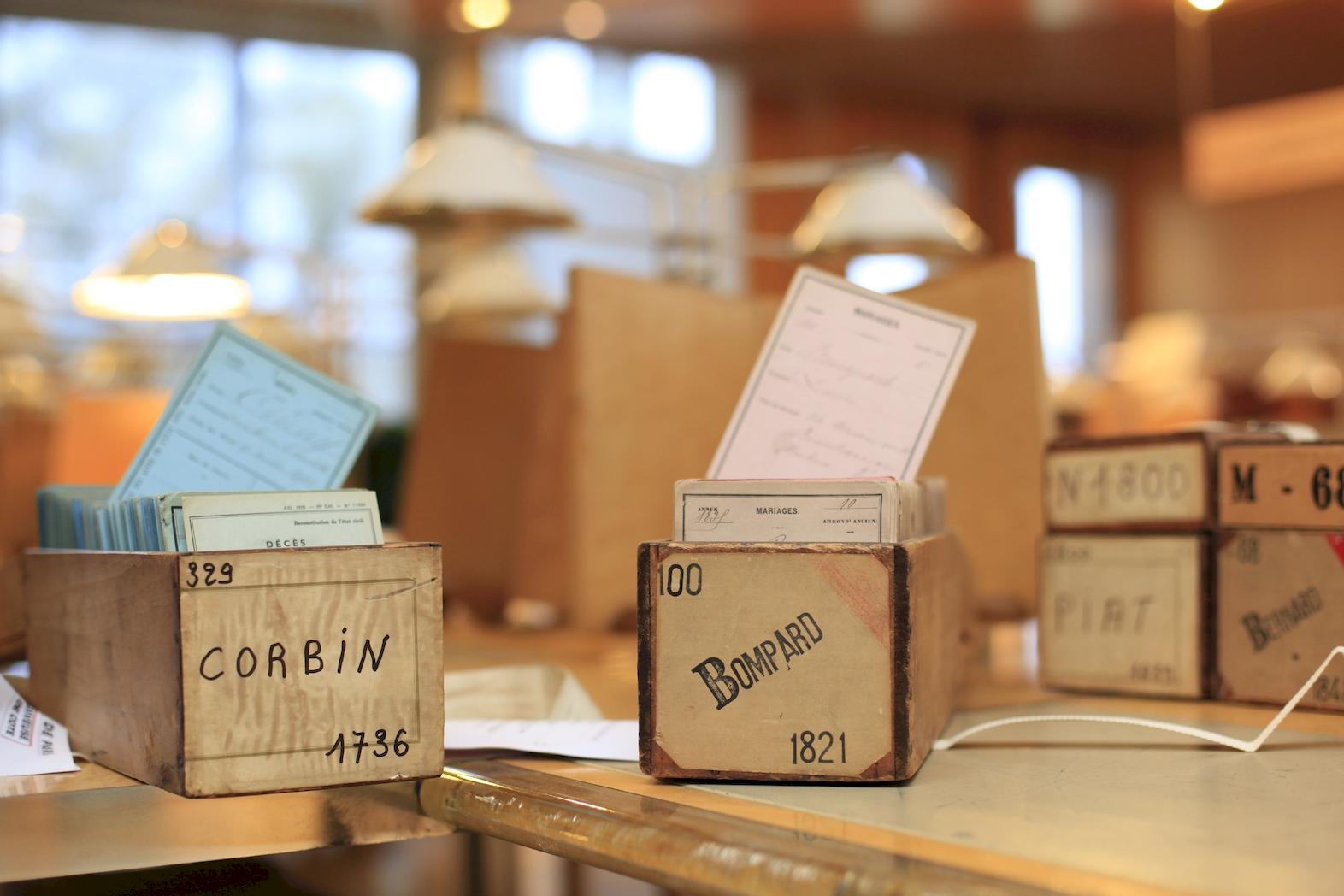Cours d'initiation à la recherche Archives de Paris - Salle Paul Verlaine Paris