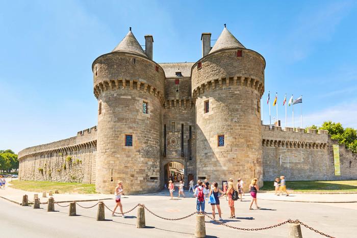 Départ de l'Office de tourisme Guérande