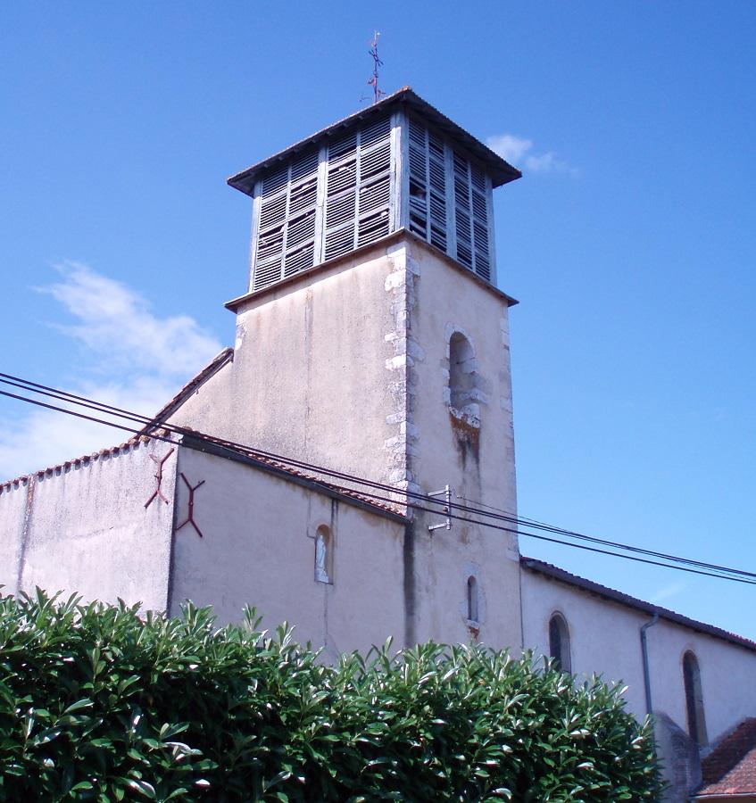 Eglise de Bahus-Juzanx Montsoué