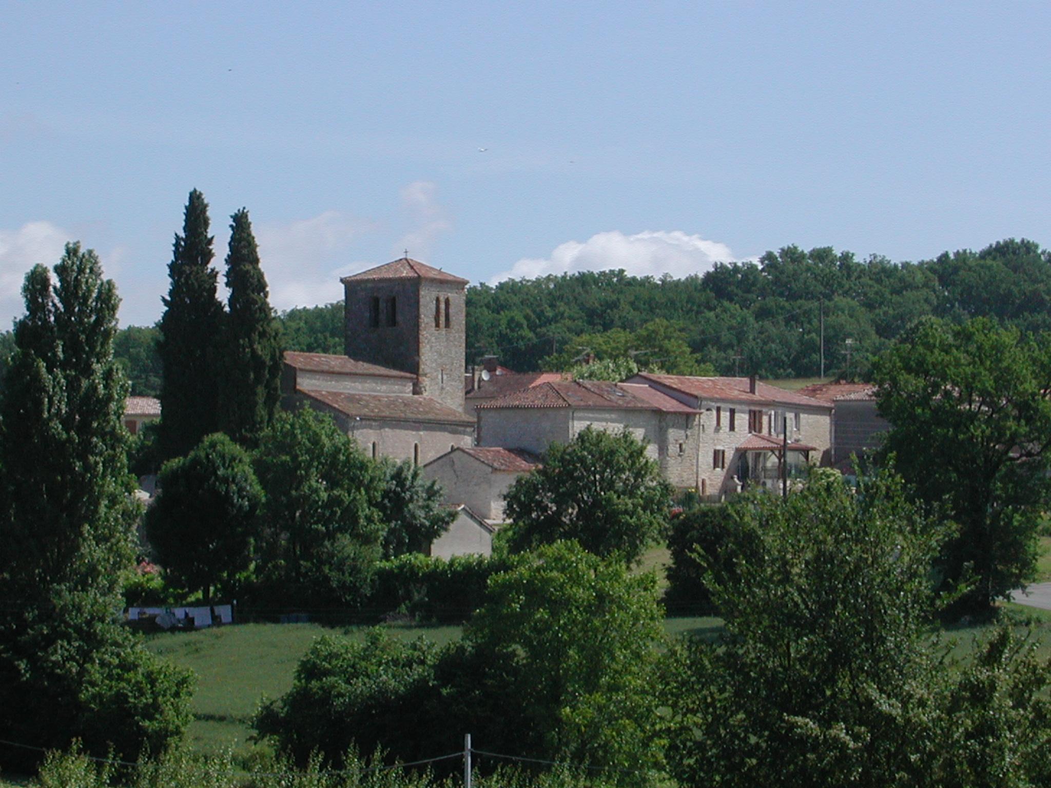 Eglise de Bourlens Bourlens