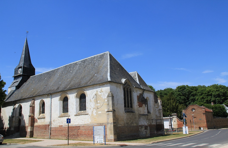 Eglise de Sains-en-Amiénois Sains-en-Amiénois