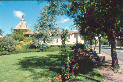 Eglise de Saint Girons Vielle-Saint-Girons