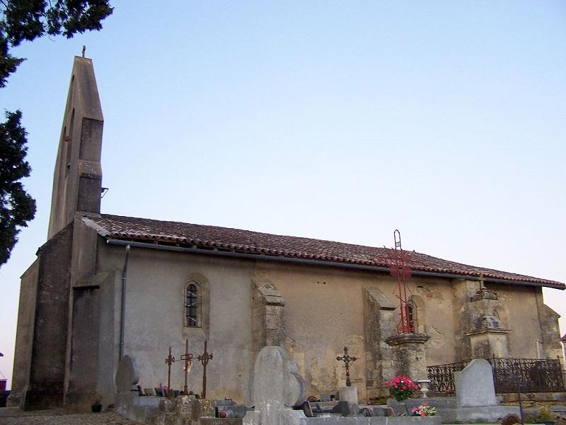 Eglise de Saint-Michel-de-Lapujade