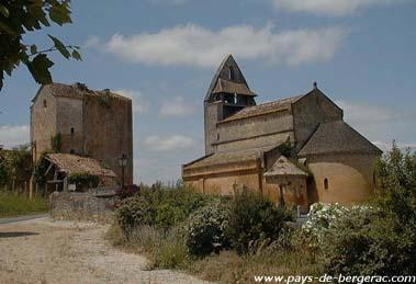 Eglise de Sainte Croix de Beaumont Sainte-Croix