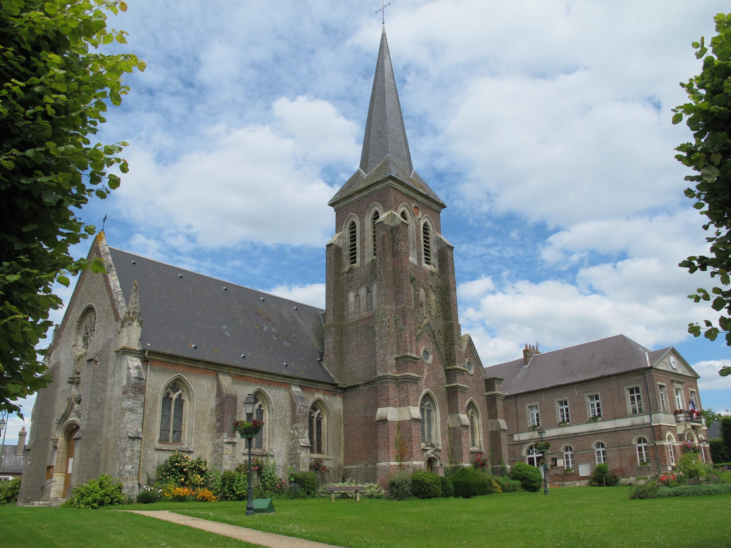 Eglise Le Coudray Saint Germer