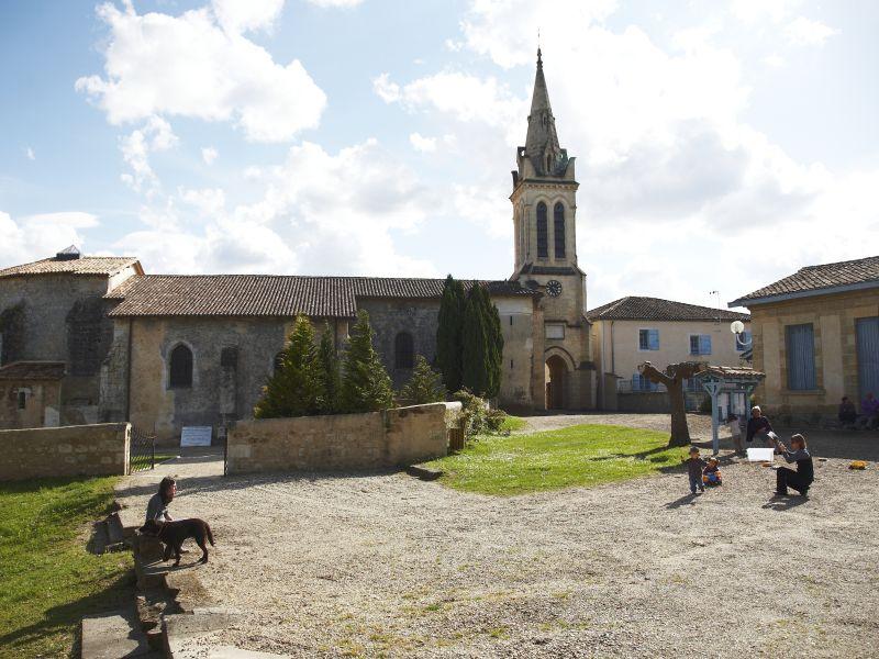 Eglise Notre-Dame de Bernos Bernos-Beaulac
