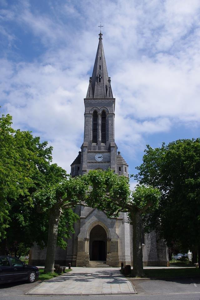 Eglise Notre Dame de l'Assomption de Mimizan Mimizan