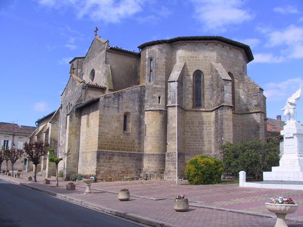 Eglise Notre Dame de Sauveterre de Guyenne