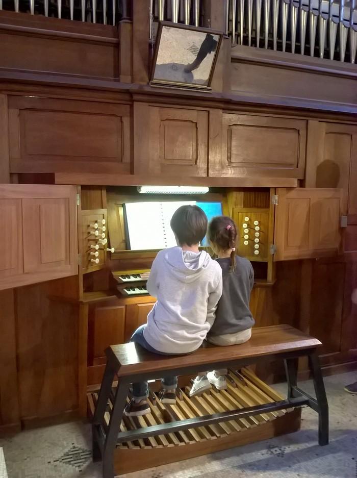 """Aterlier musical """"A toi de jouer!"""" Eglise Notre-Dame des Grèves"""