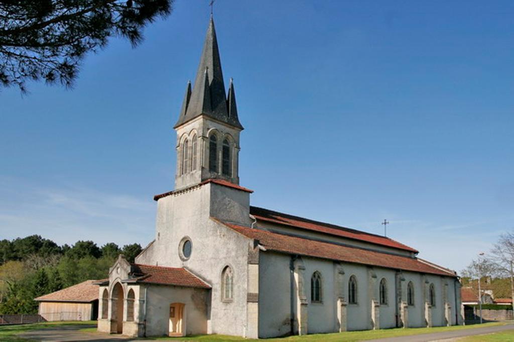 Eglise Notre-Dame d'Ychoux Ychoux