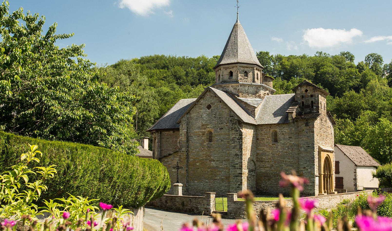 Église Romane de l'Hôpital-Saint-Blaise L'Hôpital-Saint-Blaise