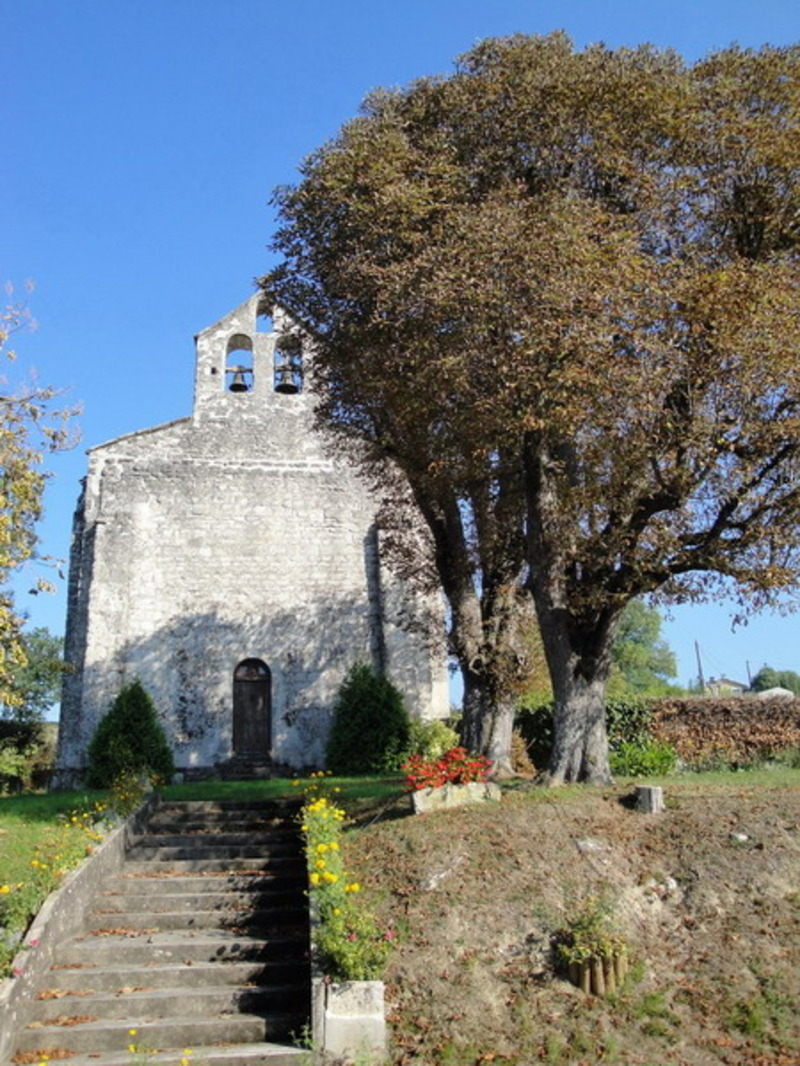 Eglise romane Saint Blaise Esclottes